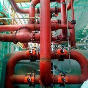 Montagem de instalações industriais