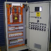Instalação de quadro elétrico para indústria química