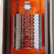 Instalação de quadro elétrico para indústria metalúrgica