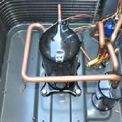 Manutenção corretiva de sistema de ar condicionado