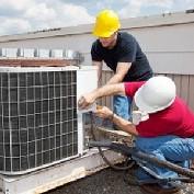 Manutenção de sistema de ar condicionado